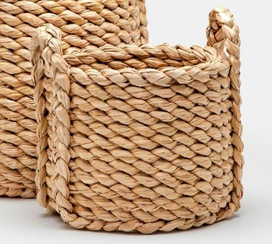MG014 Rachel Round Basket - Small