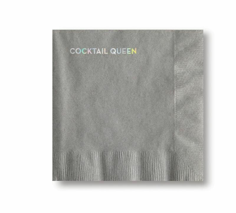 SG108 Cocktail Queen Cocktail Napkins