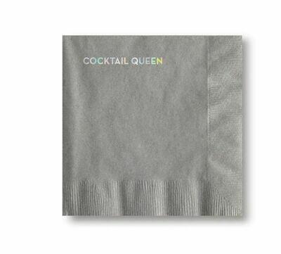 SG108 Cocktail Queen Cocktail Napkins