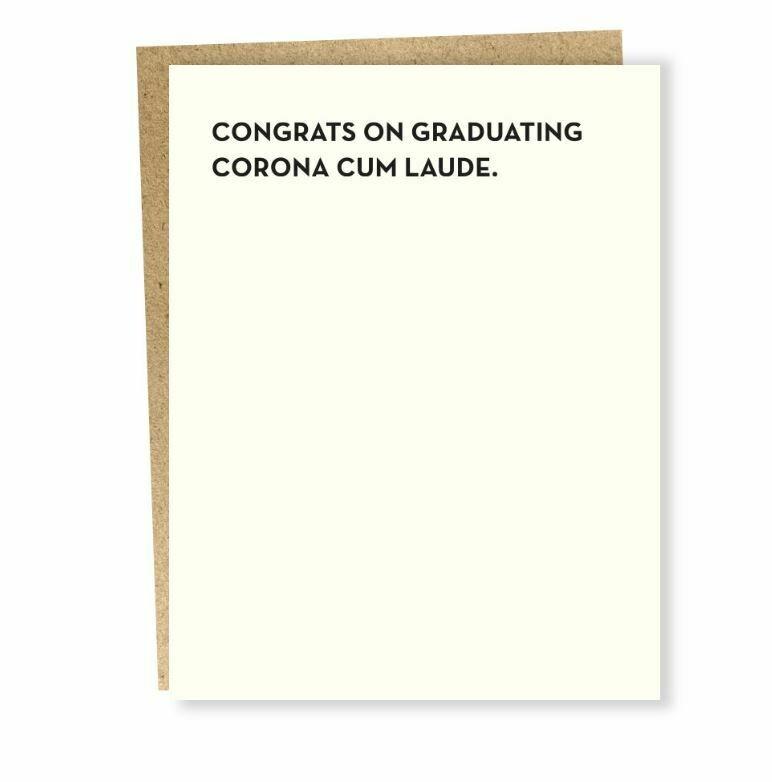 SG110 Corona Cum Laude Card