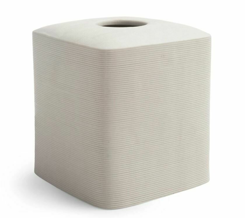 KX010 White Porcelain Tissue Holder