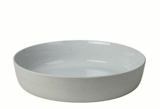"BM003 Large Stoneware Salad Serving Bowl 13.4"" diameter x 3"""