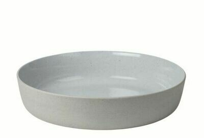 BM003 Large Stoneware Salad Serving Bowl 13.4