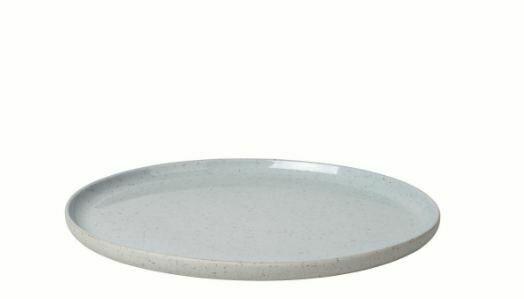 "BM005 Stoneware Dessert Plate 8.3"" diameter x .5"""