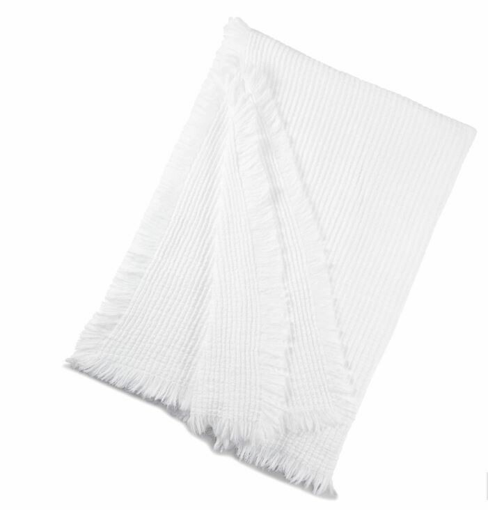 KX021 Malaga Throw - White