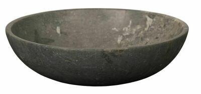 NR004 Black Marble Hutu Bowl
