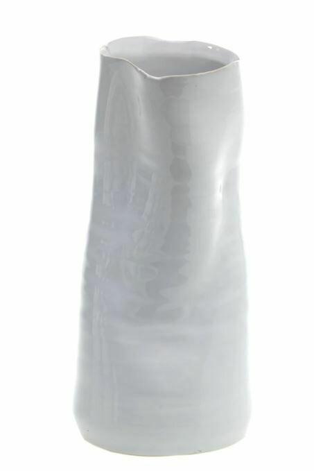 Freeform Vase White LG