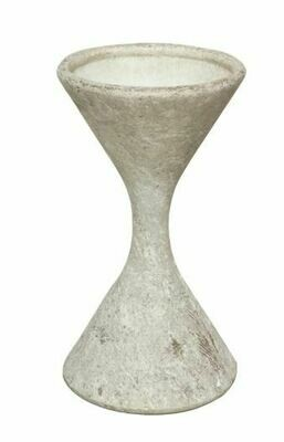 Willy Guhl Hourglass Planter - SM WHITE