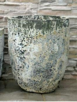 "X-Large Etruscan Glazed Pot 28"" H x 23'W"