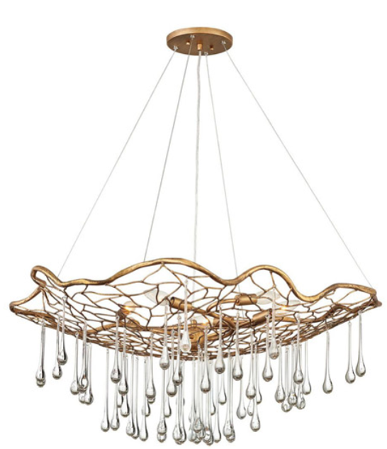 Laguna Large Single Tier Chandelier