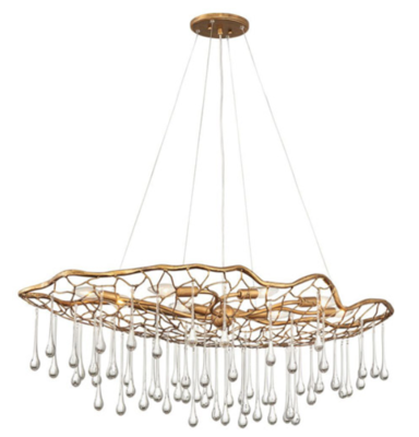 Laguna 8 Light Linear Chandelier