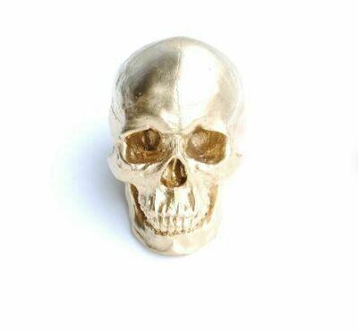 ND001 Gold Skull