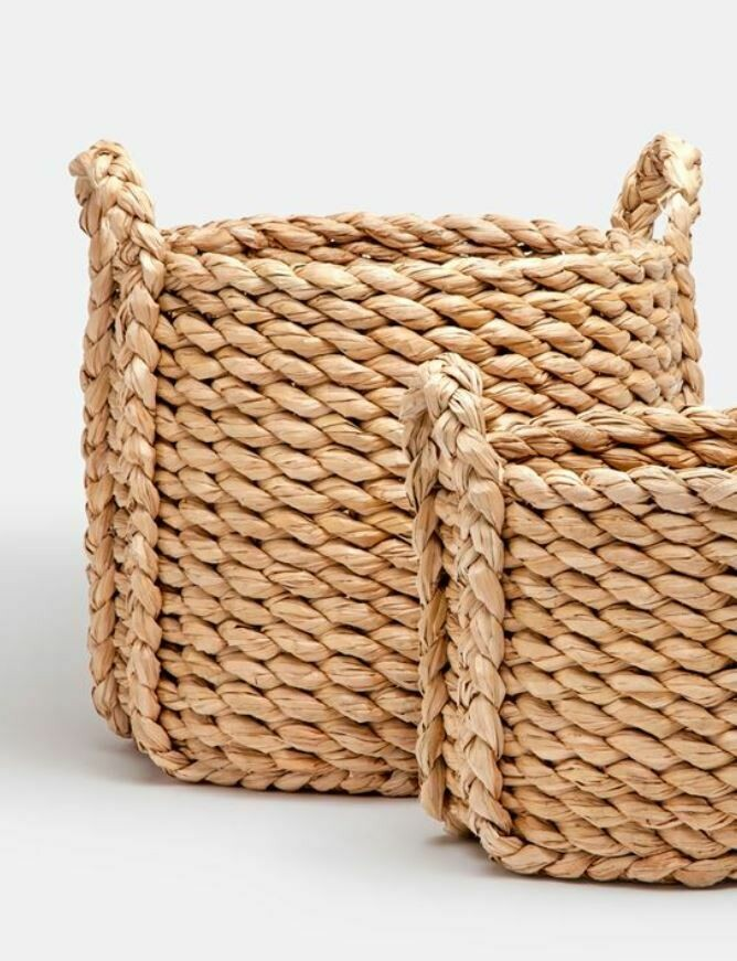 Rachel Round Basket-Large