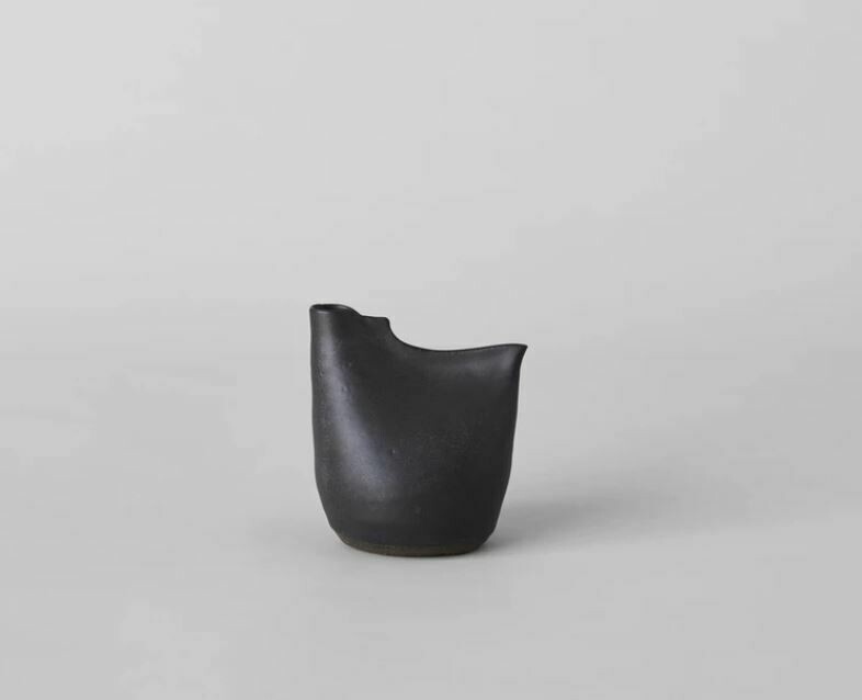 Bird Vase - Small Black