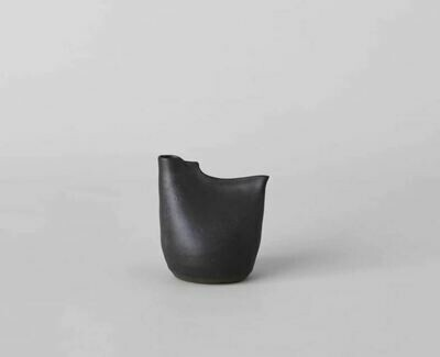 Bird Vase - Tiny Black
