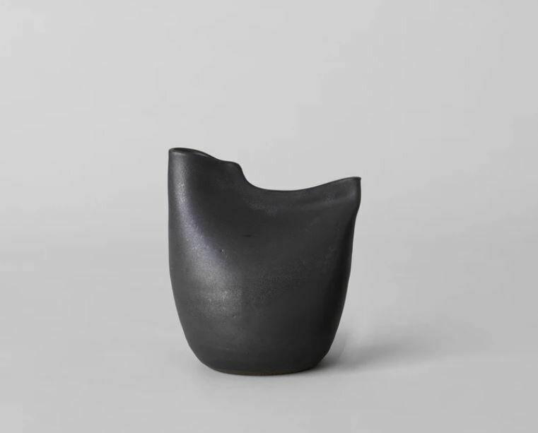 Bird Vase - Large Black