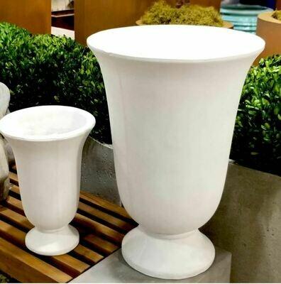 Large White Urn