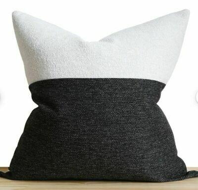 "India 19"" Color Block Pillow"