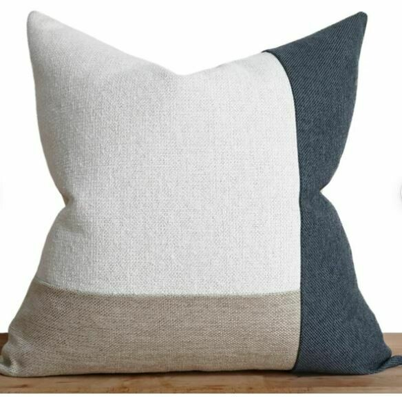 """Ario Navy 23"""" Pillow"""