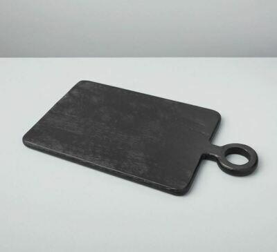 BH013 Black Mango Wood Mini Board Rectangular