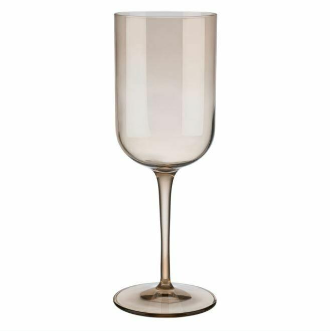 Red Wine Glass Amber