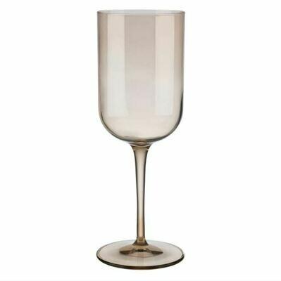 BM015 Red Wine Glass Amber