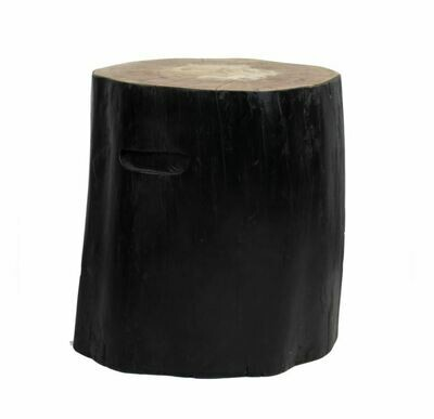 Blackened Stump Stool