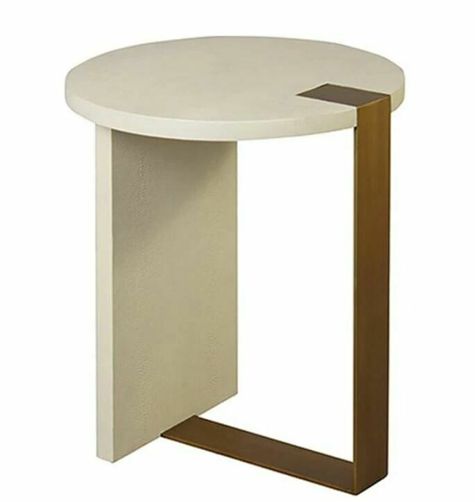 Huntington Shagreen Side Table