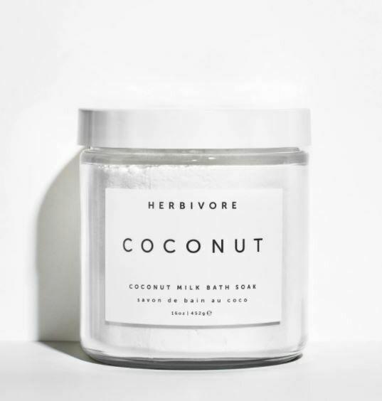 Small Coconut Bath Soak 8 oz