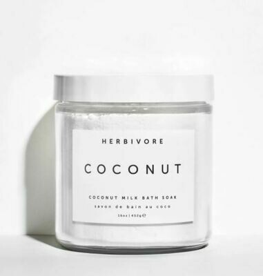 Small Coconut Bath Soak 8 oz