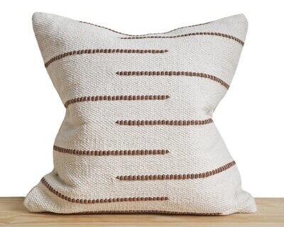 """CB027 Astoria Sepia Pillow 18""""X18"""""""