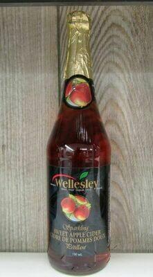 Wellesley Brand Sparkling Apple Cider