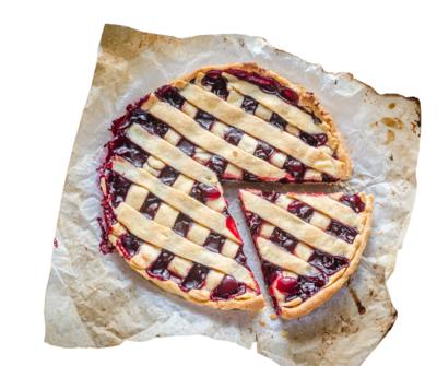 Frozen Fruit Pie