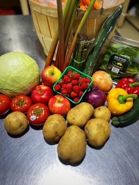 Weekly Local Food Produce Box