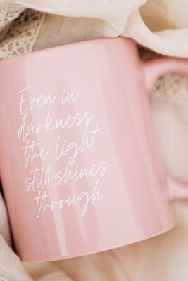 SLIGHTLY IMPERFECT | The Light | PINK Ceramic Mug