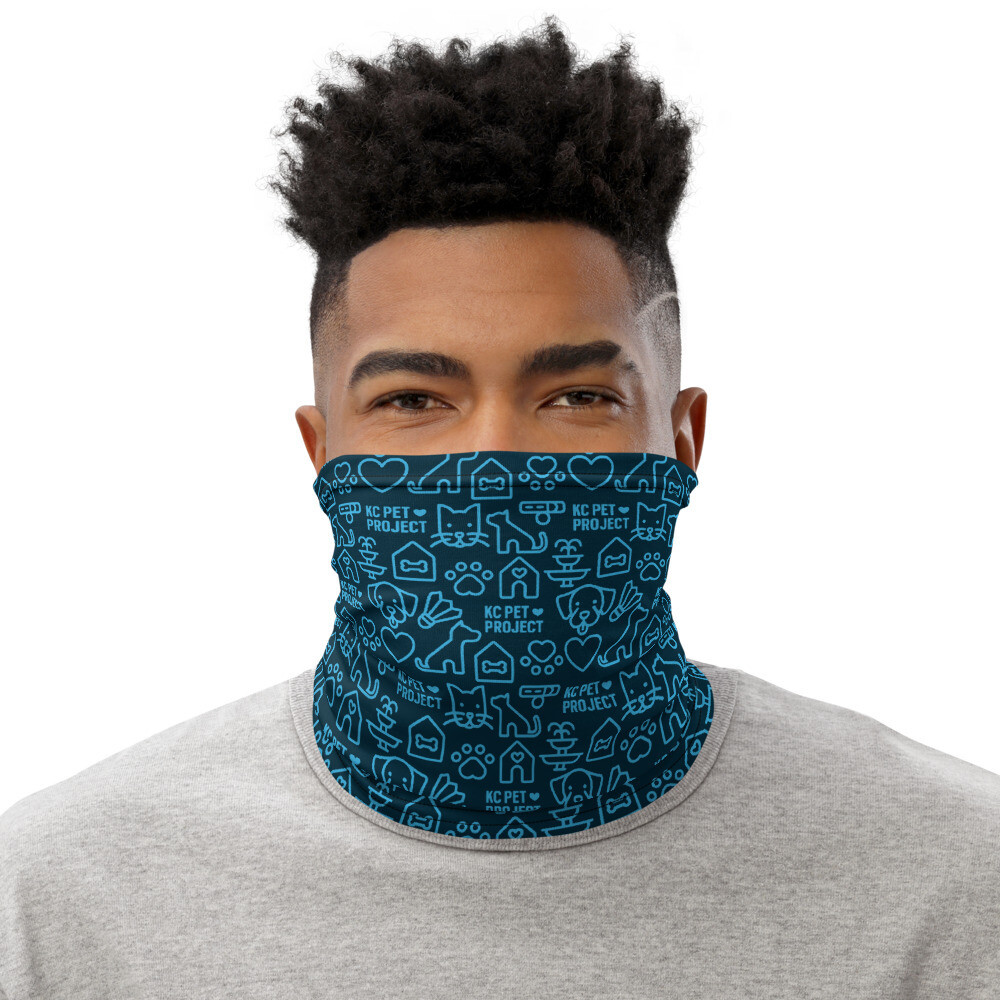 KC Pet Project Neck Gaiter - Navy