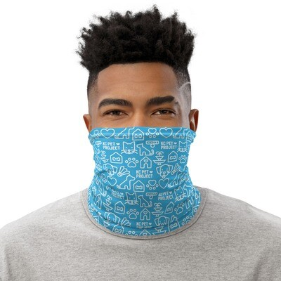 KC Pet Project Neck Gaiter - Cyan