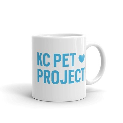 KC Pet Project - White Mug
