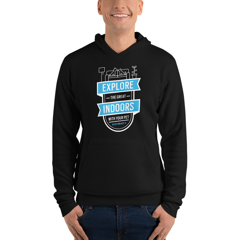 KCPP - Explore the Great Indoors - Unisex Hoodie