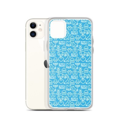KC Pet Project - Cyan iPhone Case