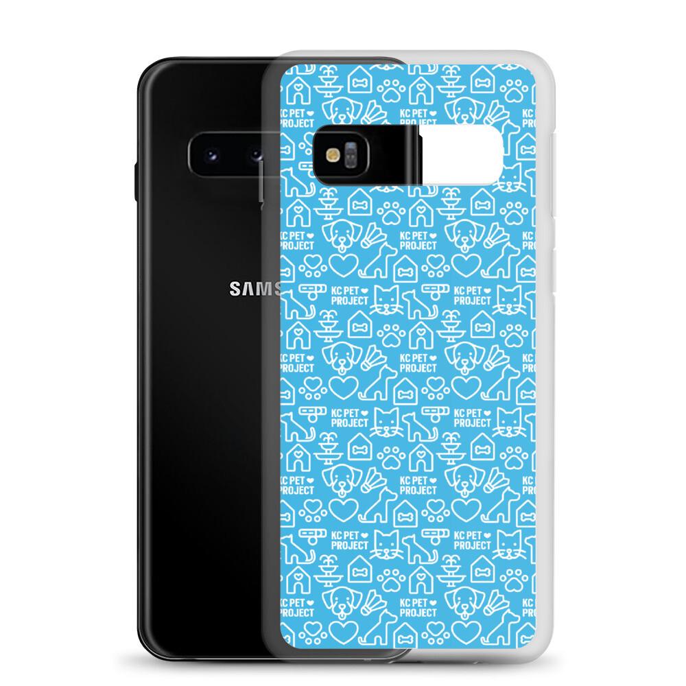 KC Pet Project - Cyan Samsung Case