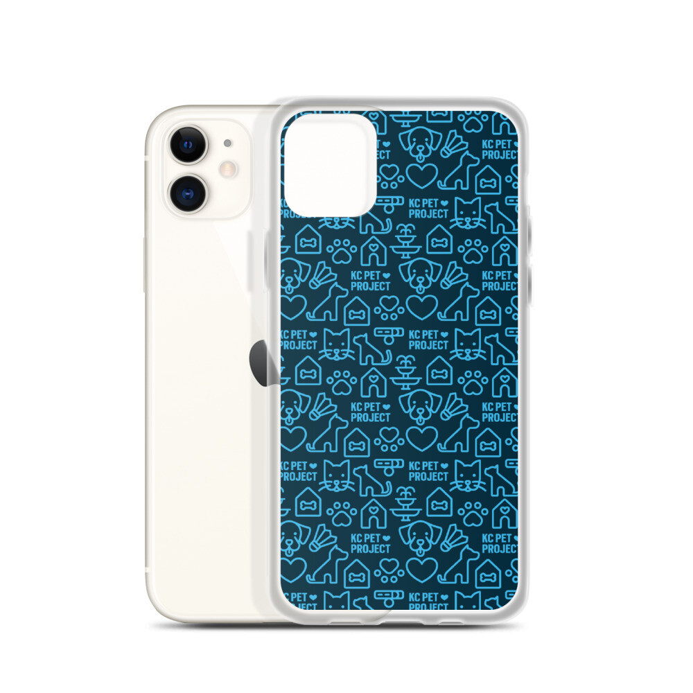 KC Pet Project - Navy iPhone Case