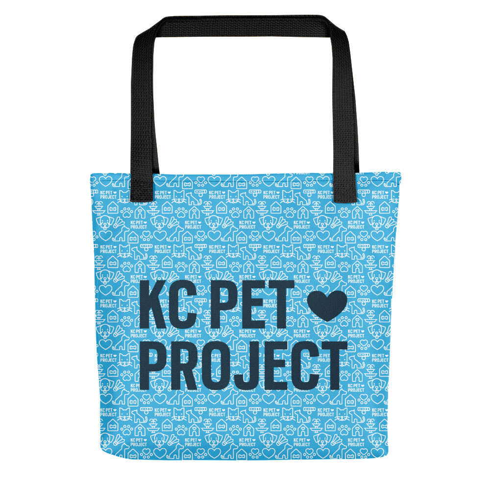 KC Pet Project - Tote Bag - Cyan