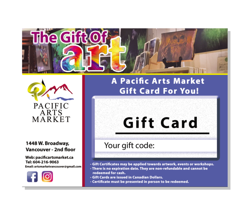 Pacific Arts Market Gift Cards