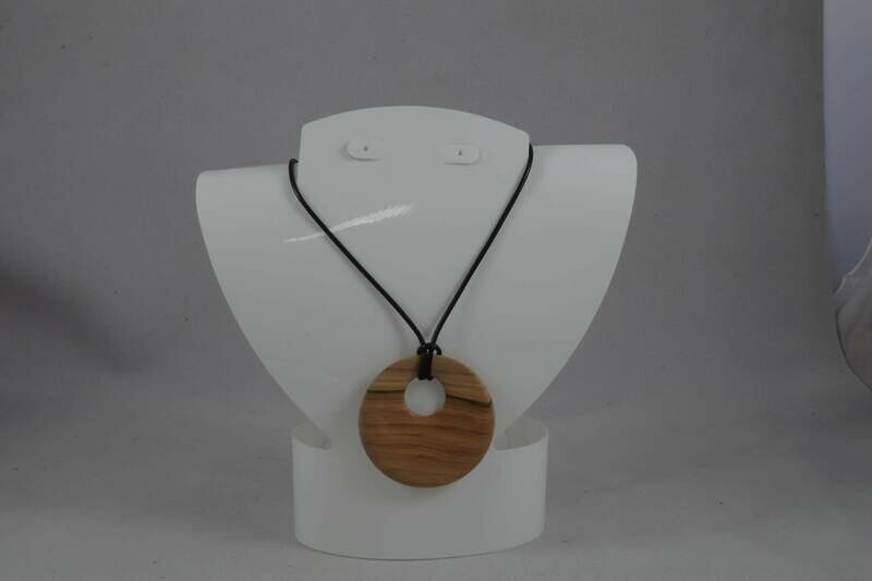 Mountain ash wood pendant
