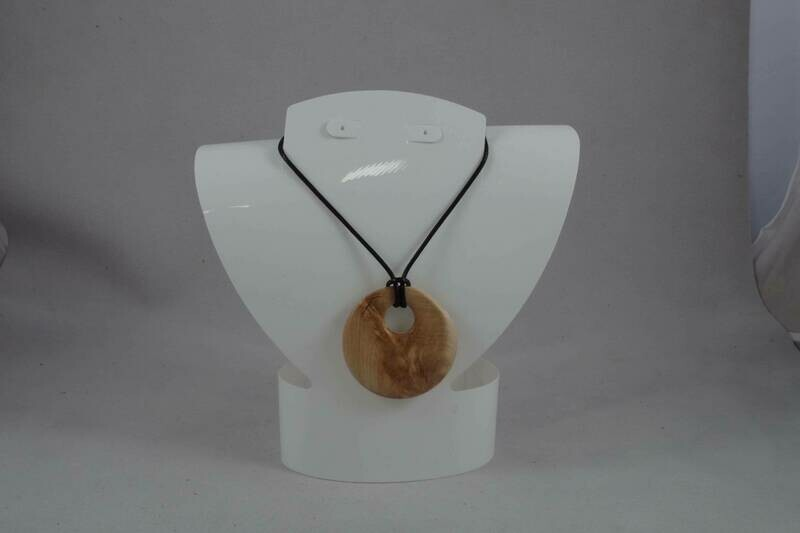 Maple wood pendant