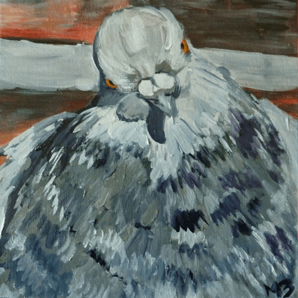 Portrait of a Pigeon 2