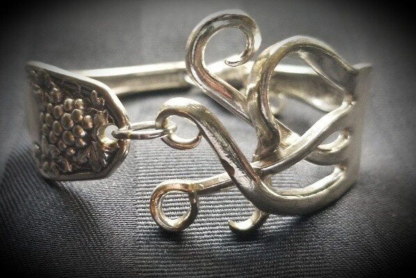 Bent Fork bracelet