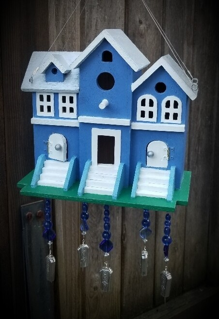 Bird House wind chime