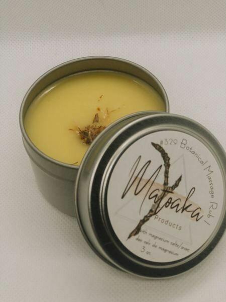 Botanical Massage Rub I
